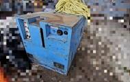 sa3215 コマツ コンプレッサー EC15SSBの写真